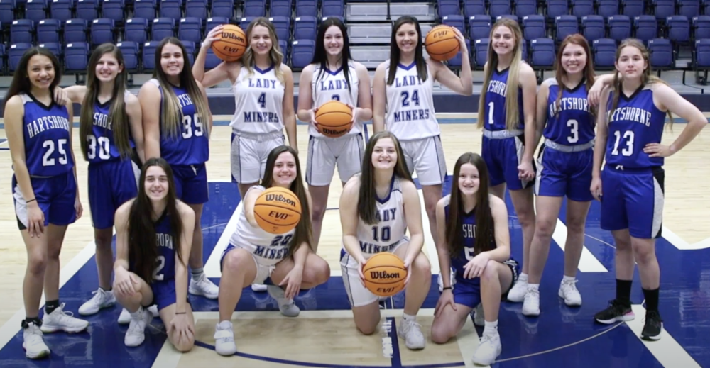 LADY MINER BASKETBALL 2020-2021