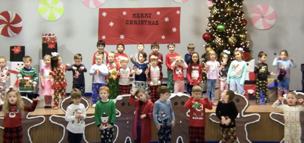 Hartshorne Elementary Christmas Program