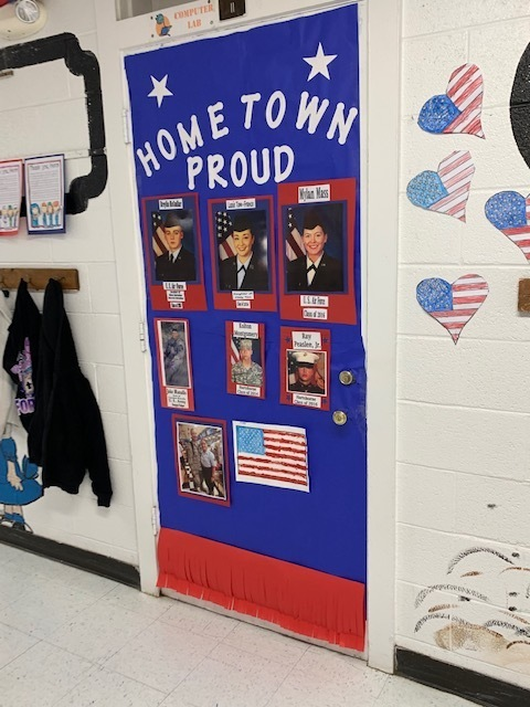 Honoring Veterans at NorthWard Elementary
